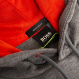 BOSS Athleisure Soody Hooded Sweatshirt in Grey Hoodies BOSS