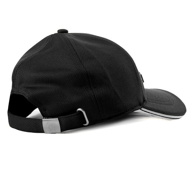 Galvin Green Stone Golf Cap in Black / White Hats Galvin Green