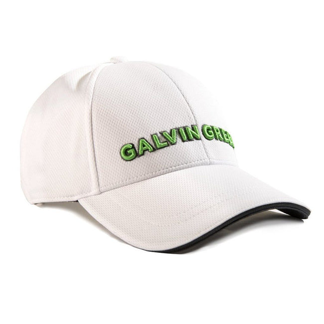 Galvin Green Stone Golf Cap in White / Fore Green Hats Galvin Green