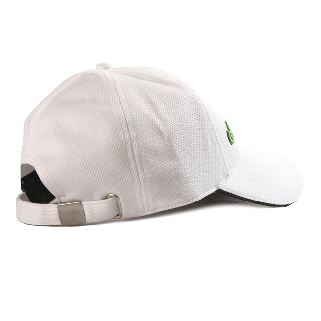 Galvin Green Stone Golf Cap in White / Fore Green