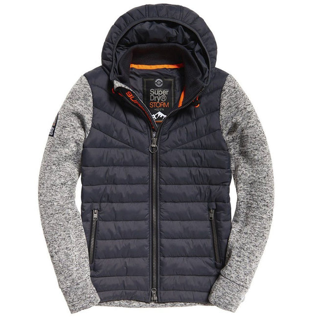 Superdry Storm Hybrid in Light Grey Grit