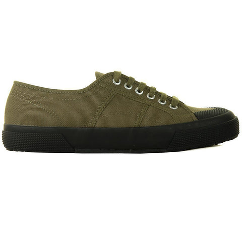 2390 COTU Classic Shoes in Military Green/ Black Trainers Superga