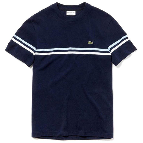 TH4335-9JG Made in France Crew Neck T-Shirt T-Shirts Lacoste