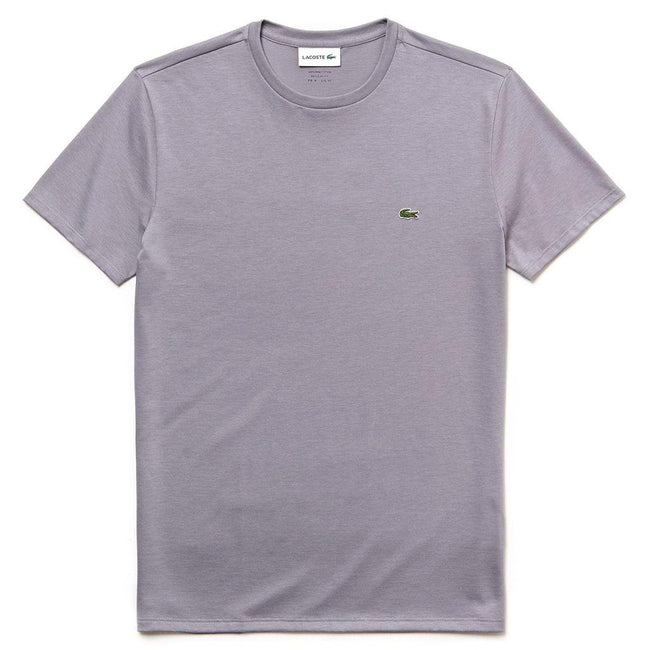 Lacoste TH6709-KC8 Crew Neck Tee in Dark Grey