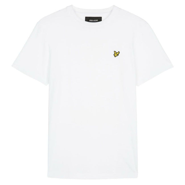 Lyle & Scott Crew Neck T-Shirt in White