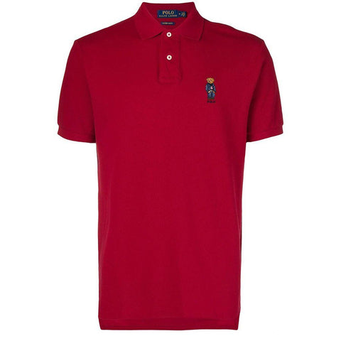 Ralph Lauren Teddy Bear Polo Shirt in Red Polo Shirts Ralph Lauren