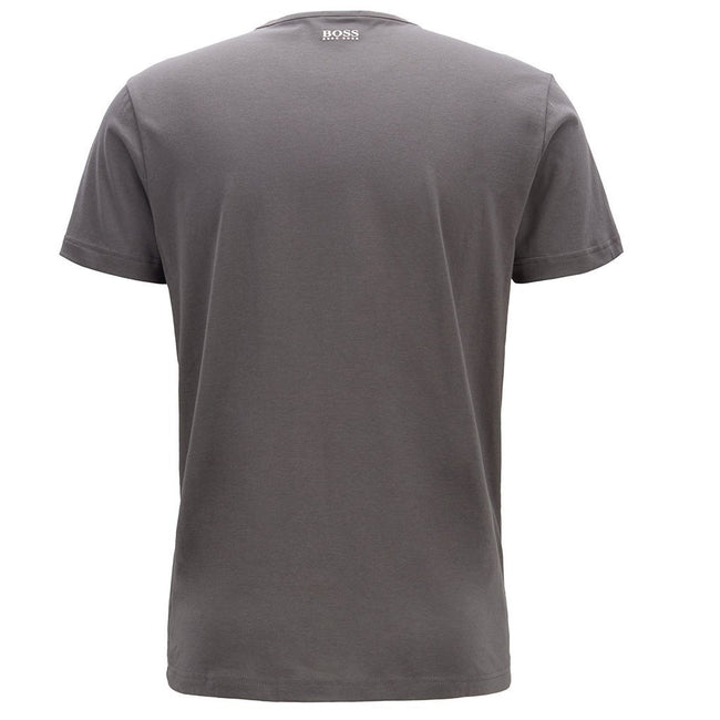 BOSS Athleisure Tee 2 Crew Neck in Anthracite Grey