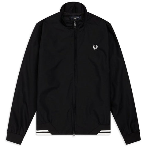 J100 Twin Tipped Sports Jacket in Black Coats & Jackets Fred Perry