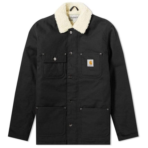 Carhartt WIP Fairmount Coat in Black Coats & Jackets Edwards Menswear