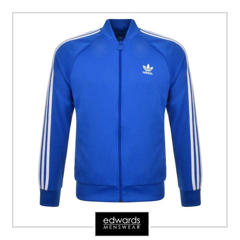 Adidas BK5917 SST Track Top in Blue