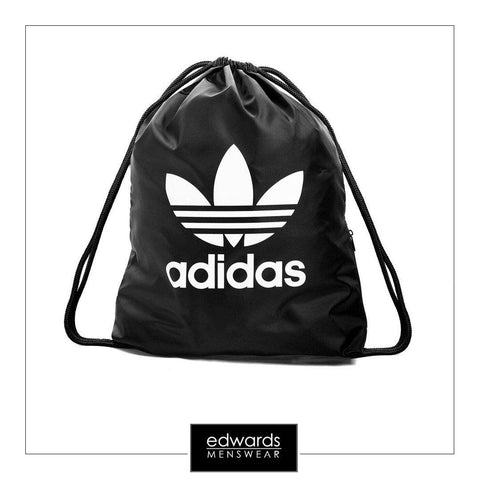 Adidas Trefoil Gym Sack BK6726 in Black