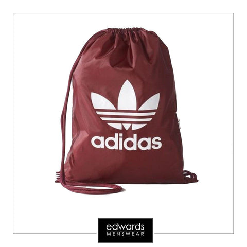 Adidas Trefoil Gym Sack BK6728 in Burgundy