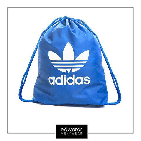 Adidas Trefoil Gym Sack BJ8358 in Bluebird