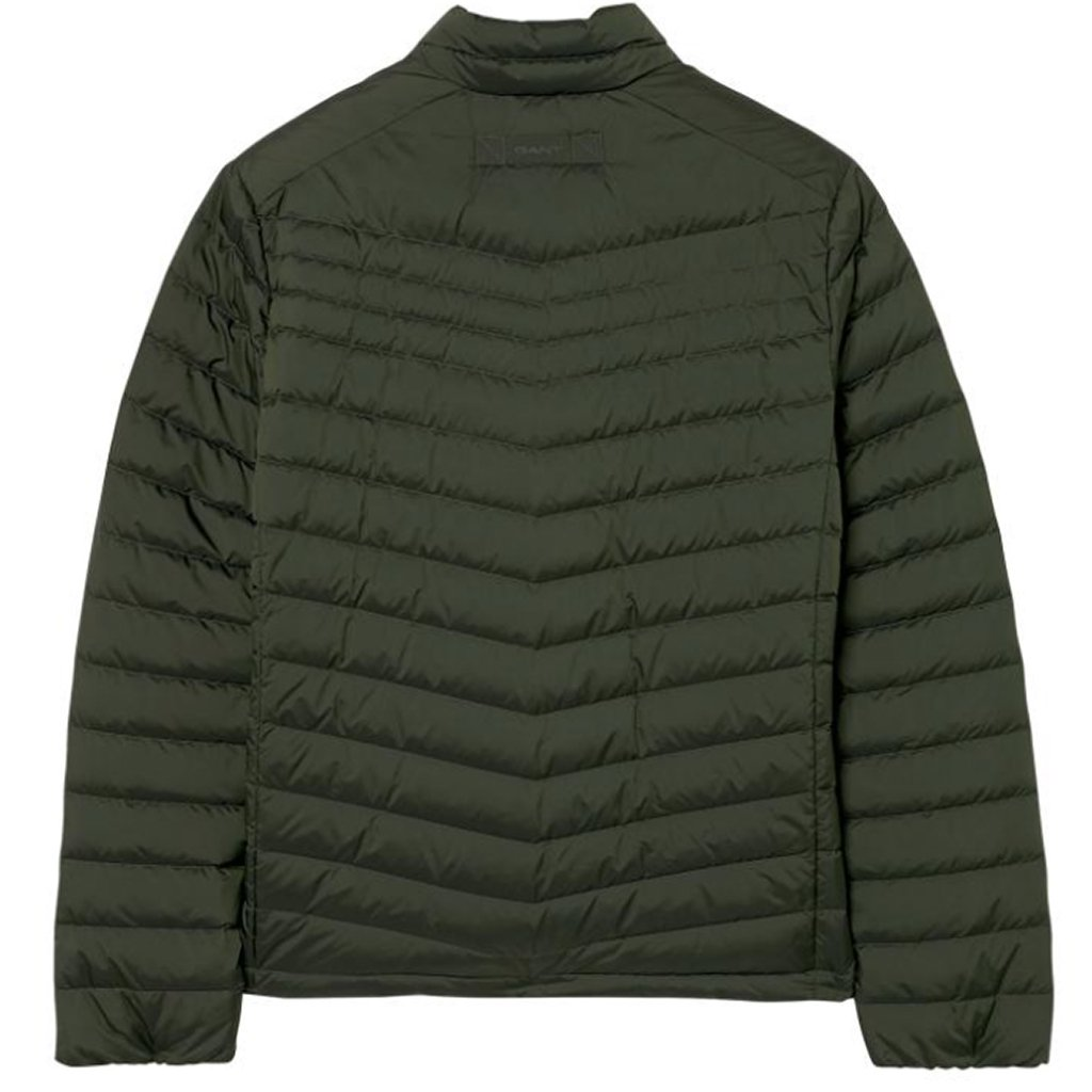 Gant The Airlight Down Jacket in Moss Green Coats & Jackets Gant