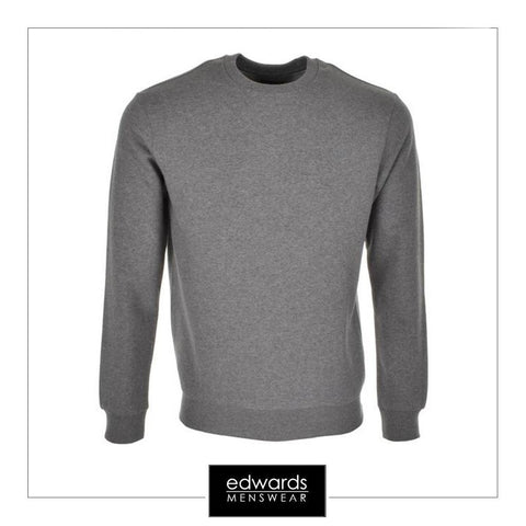 Armani Jeans Crew Neck Sweatshirt in Grey