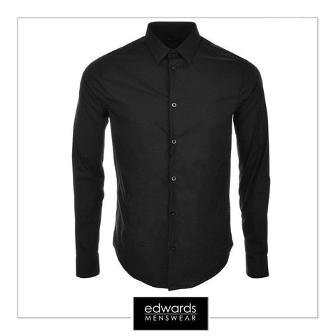 Armani Shirt In Black
