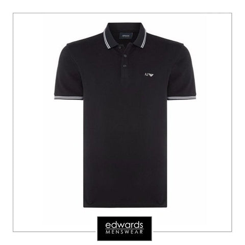Armani Jeans Polo Shirt in Navy