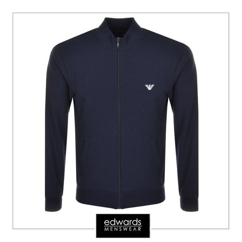 Emporio Armani Track Top in Navy