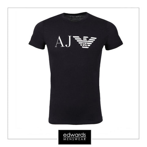 Armani Jeans Eagle Logo T-Shirt in Navy