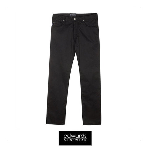 Armani 5 Pockets Jeans in Black