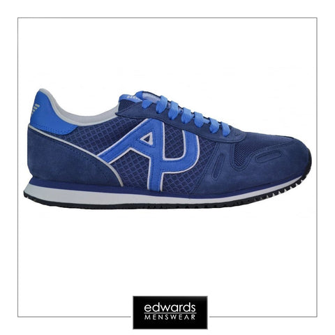 Armani Jeans Trainers in Blue
