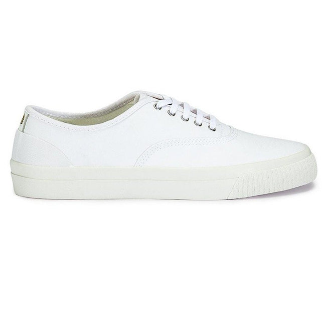 Fred Perry Barson Canvas Trainers in White