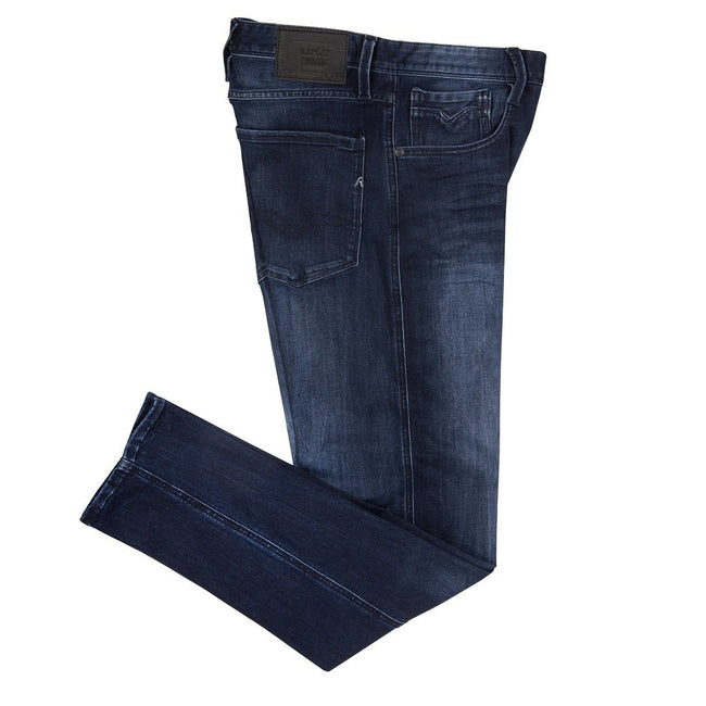Replay Slim Fit Anbass Jeans M914.41A.603.007  in Dark Navy Blue