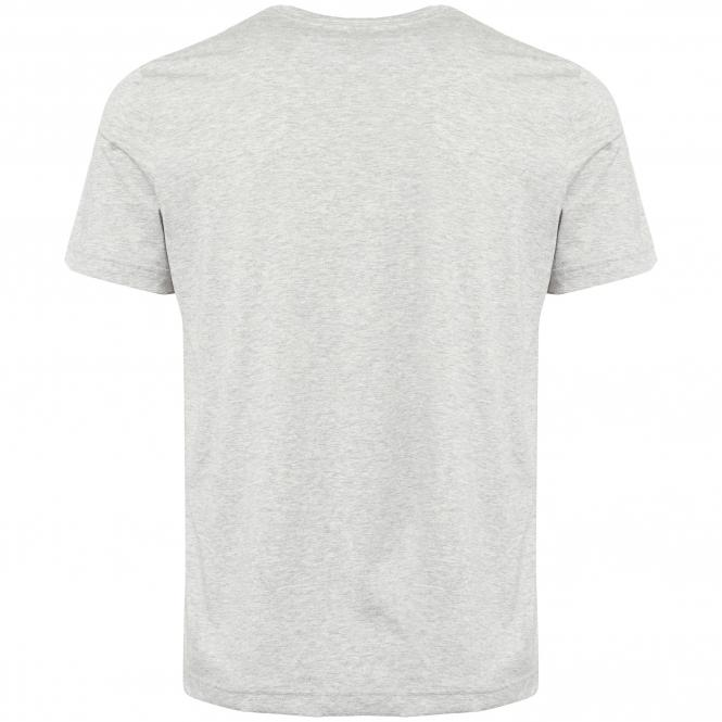 BOSS Athleisure 'Tallone' Chest Logo Tee Shirt in Light Grey