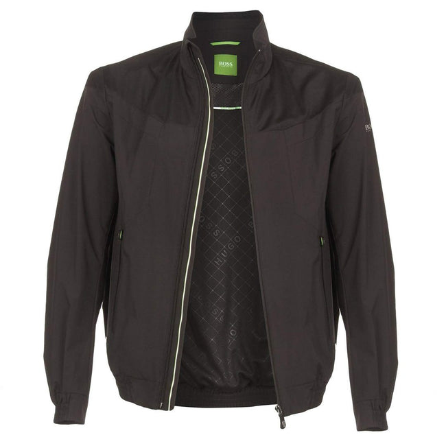 BOSS Athleisure Jalomo-3 Bomber Jacket in Black