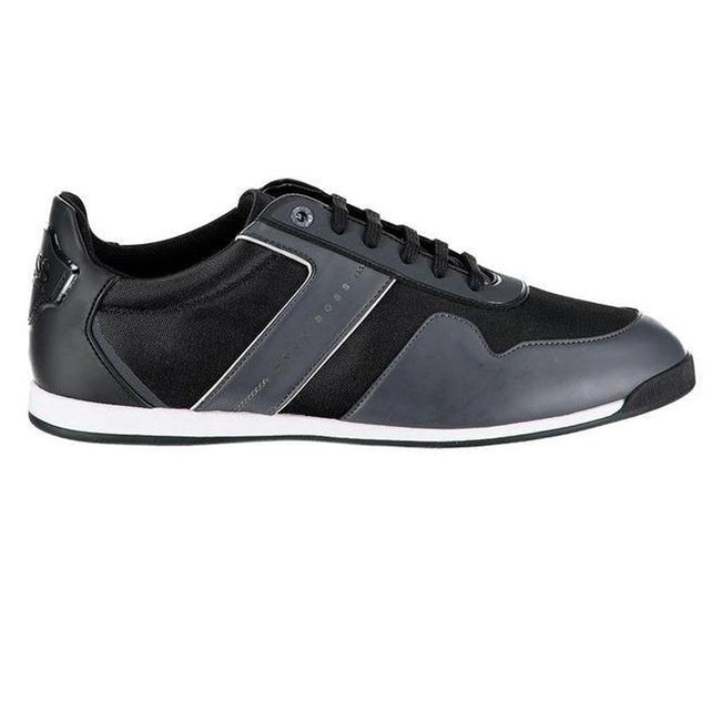 BOSS Maze Lowp Tech Trainers in Charcoal