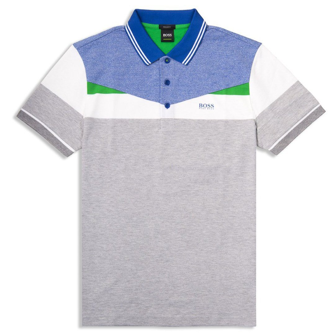 BOSS Athleisure Paddy 6 Polo Shirt in Light / Pastel Grey