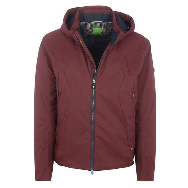 BOSS Athleisure Jadd Padded Jacket in Burgundy