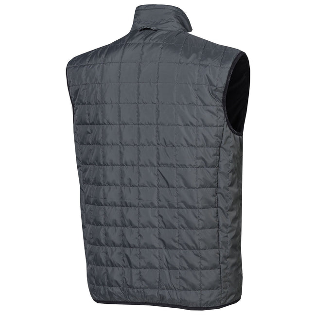 Oscar Jacobson Caleb Vest in Light Grey