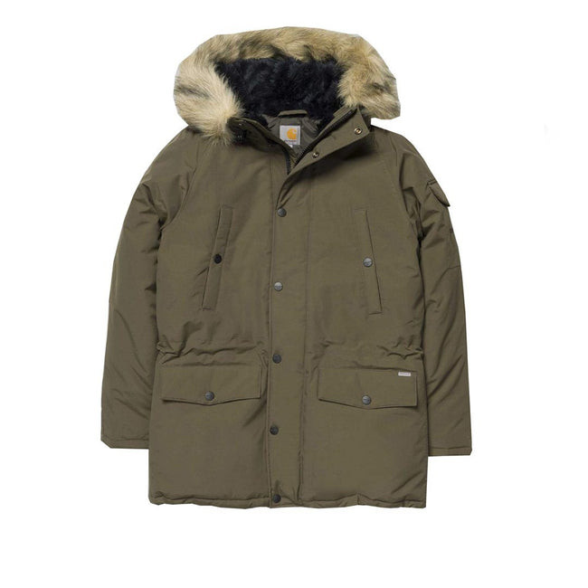 Carhartt Anchorage Parka in Cypress / Black