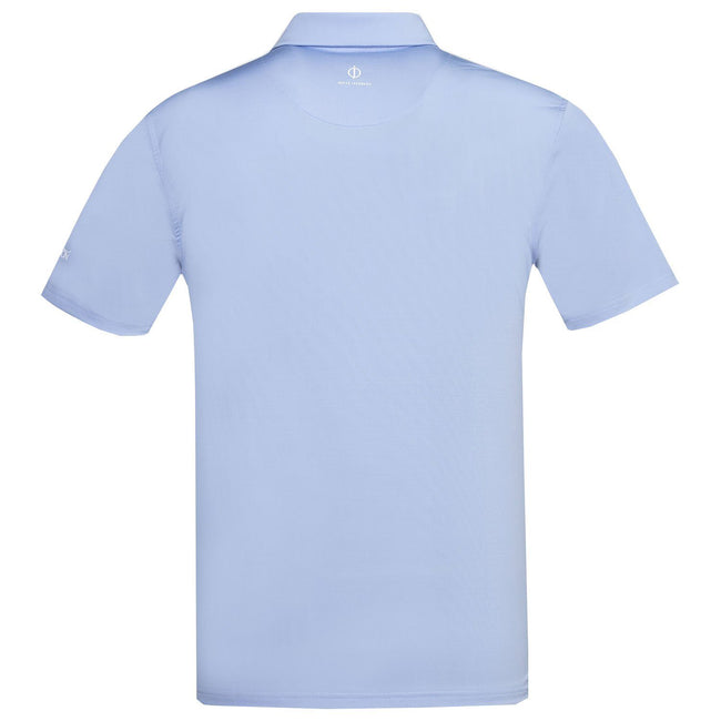 Oscar Jacobson Chap Course Polo Shirt in Light Blue