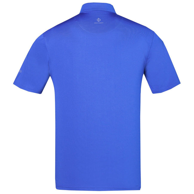 Oscar Jacobson Chap Course Polo Shirt in Blue