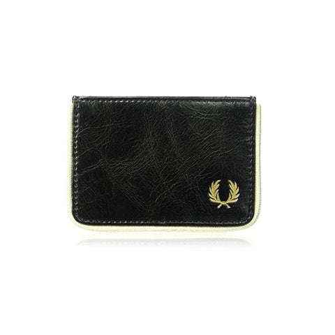 Fred Perry Classic Card Holder in Black Accessories Fred Perry