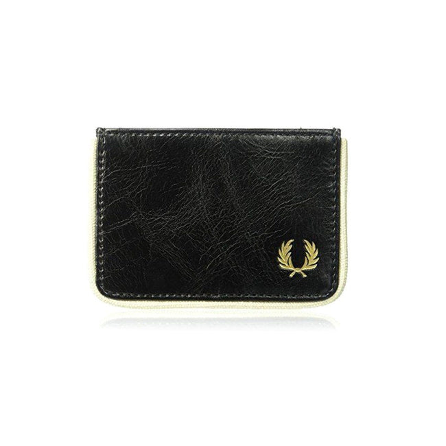 98d254506 Fred Perry Classic Card Holder in Black