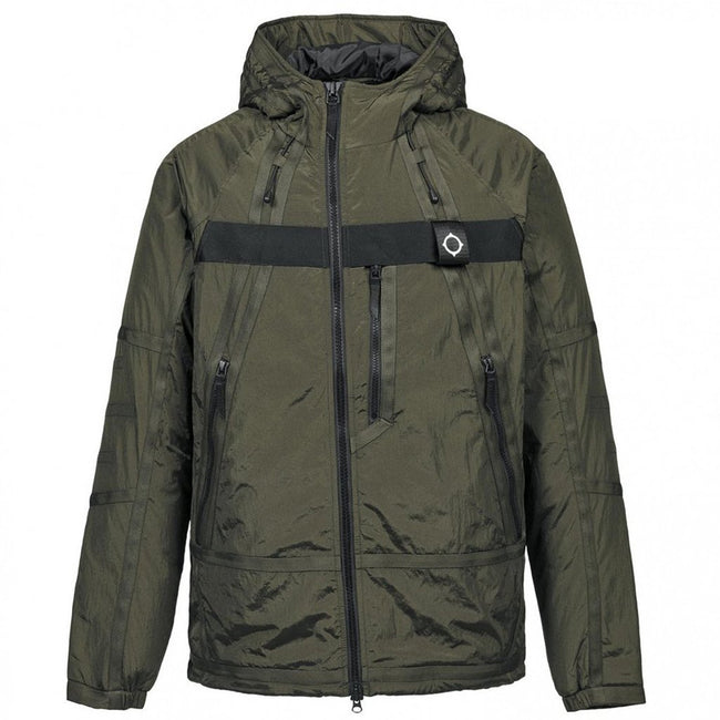 MA.STRUM Compression Jacket in Dark Khaki Green