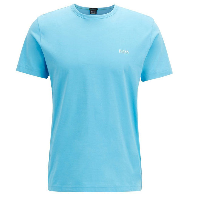 BOSS Athleisure Crew Neck Tee in Light Blue