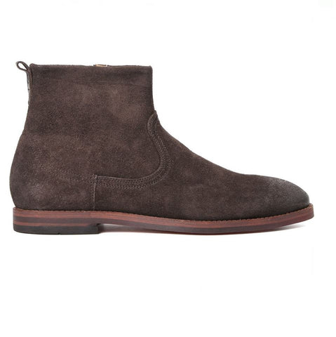 Hudson Lancing Suede Boots In Brown Shoes H by Hudson