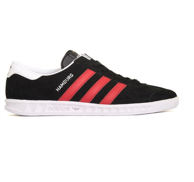 Adidas Hamburg BB5300 in Black/Red/White Trainers adidas