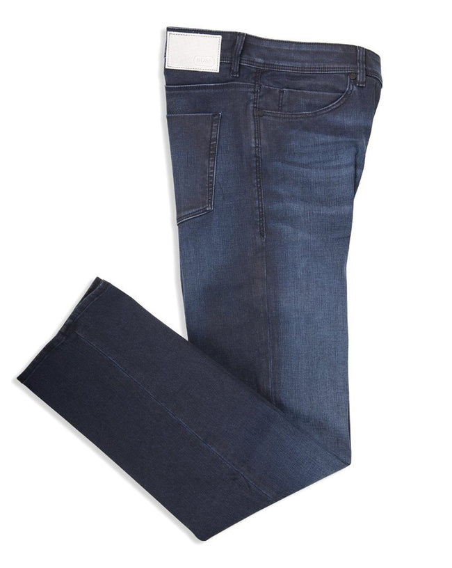 BOSS Athleisure Drake 2 Slim Fit Jeans in Dark Blue