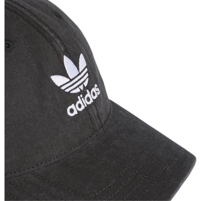 adidas DV0207 Adic Washed Cap in Black/ White Hats adidas