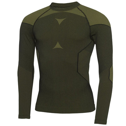 Galvin Green Edgar Skintight Thermal Base Layer in Black / Lemonade Long Sleeve Tops Galvin Green