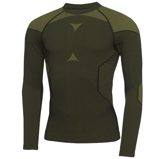 Galvin Green Edgar Skintight Thermal Base Layer in Black / Lemonade