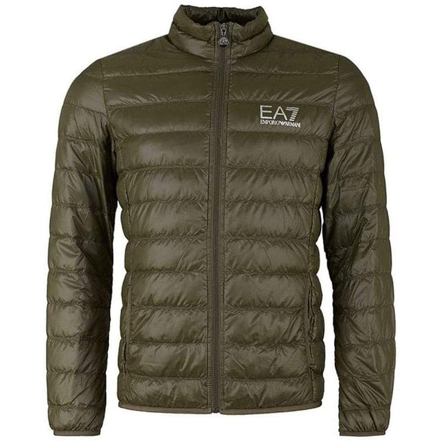 Emporio Armani EA7 Core Down Jacket in Forest Green