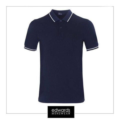 Fred Perry M3600 D45 Service Blue Polo Shirt