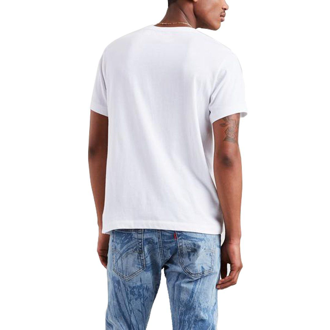 Levi's X JT Fresh Leaves Graphic Tee in White T-Shirts Levi's