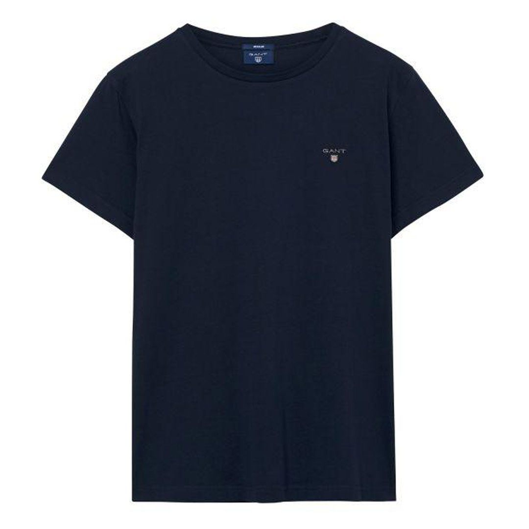 Gant The Original SS T-Shirt in Evening Blue